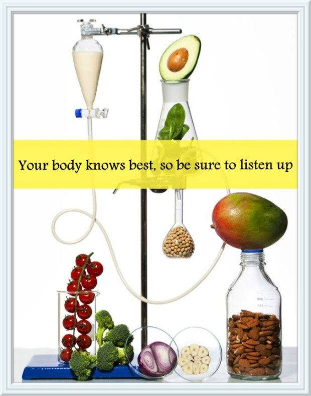 ME your body knows best - dieting article