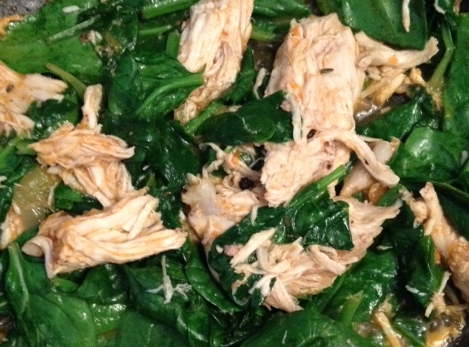 chicken-and-spinach-leftovers