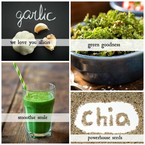 collage danger foods