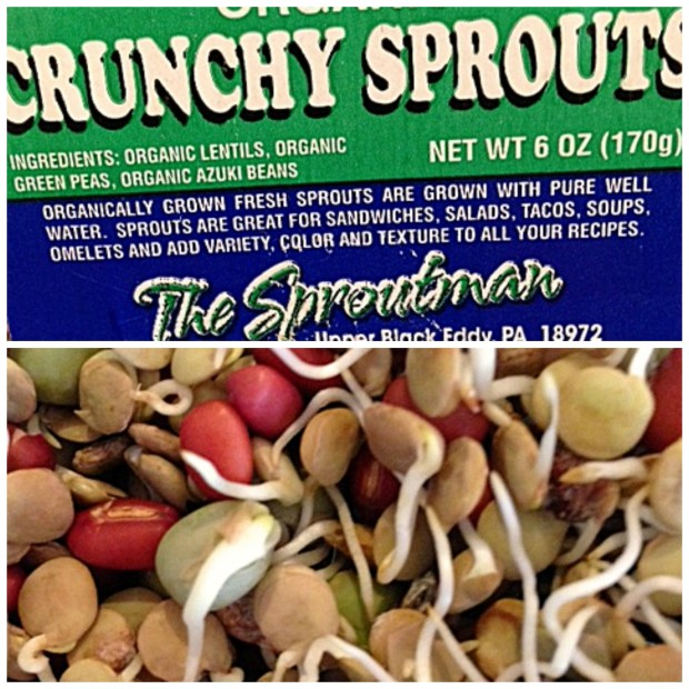 Sprouts collage
