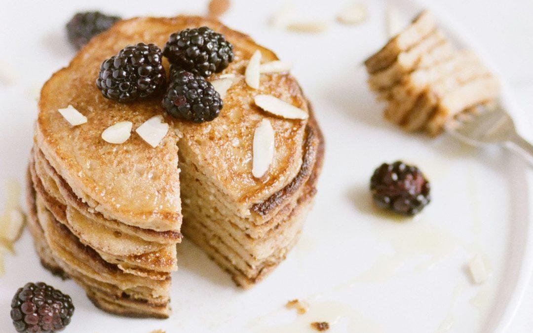 Oat Flax Pancakes