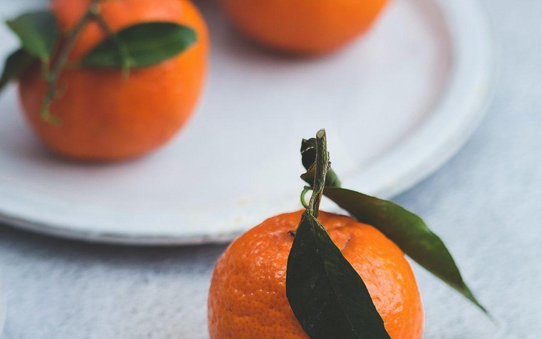 Orange Jello Pumpkins