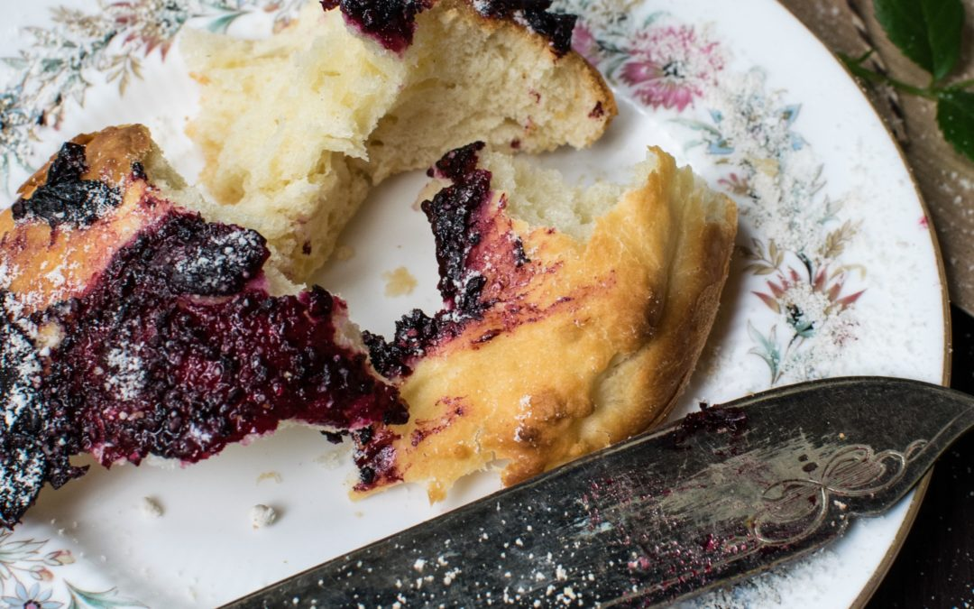 Lemon Blueberry Cake! Surprise Ingredient