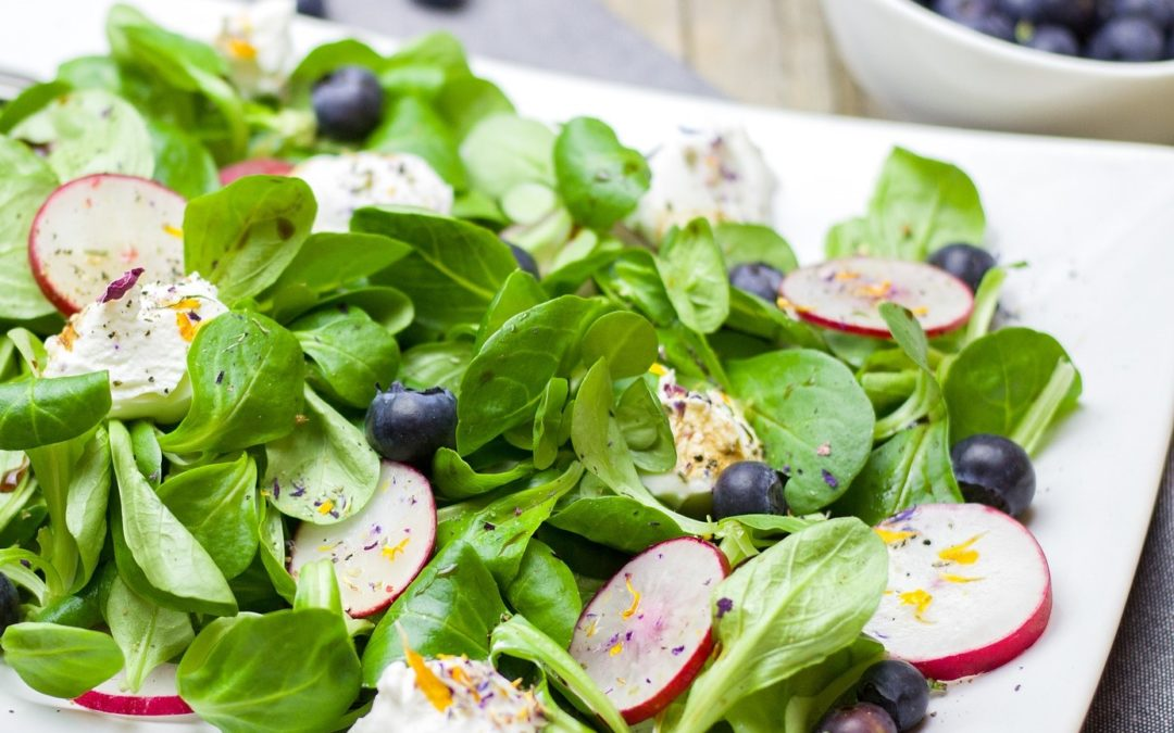 Blueberry Lovers Salad