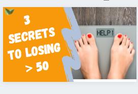 3 hidden secrets to weight loss over 50
